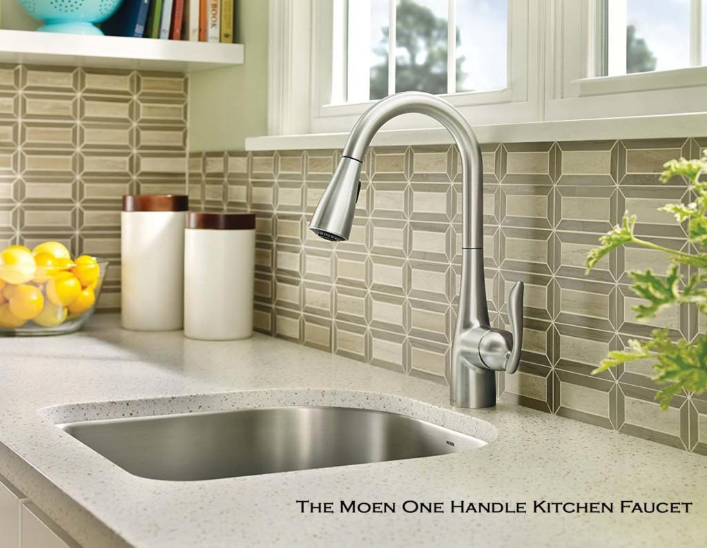 The Moen Kitchen Faucet