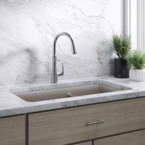 Kohler K-560-VS Bellera Pull-Down Kitchen Faucet