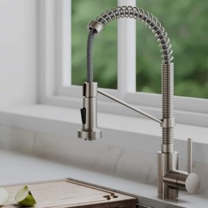 Kraus KPF-2110 Single Lever Stainless Steel kitchen faucet
