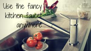 fancy kitchen faucets