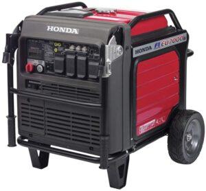 Honda EU7000ISNAN 7000-Watt 120/240-Volt Inverter Generator with CO-MINDER
