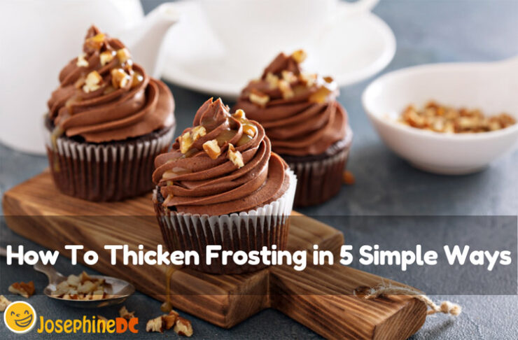 Are you into baking and making frosting for your cakes? I have simple ideas on how to thicken frosting in five simple ways. Let us learn!