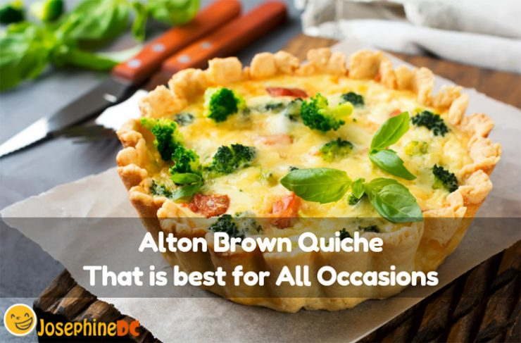When you crave for that crunchy pastry crust but just do not know where to buy one, check out the Alton Brown Quiche recipe that is easy to make. Read on!