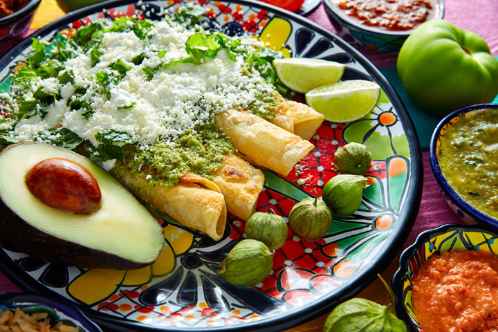 Veggie Enchilada Recipe with Butternut Squash and Black Beans