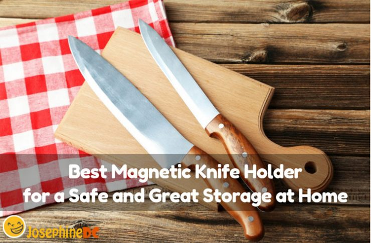 Safety is the best policy! Get the best magnetic knife holder for perfect storage in the kitchen. Display your knives neatly and conveniently.