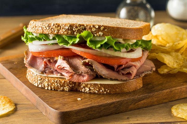 beef roast sandwich