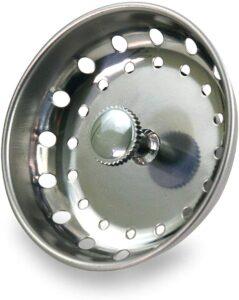 Highcraft 97333 Kitchen Sink Basket Strainer Replacement for Standard Drains