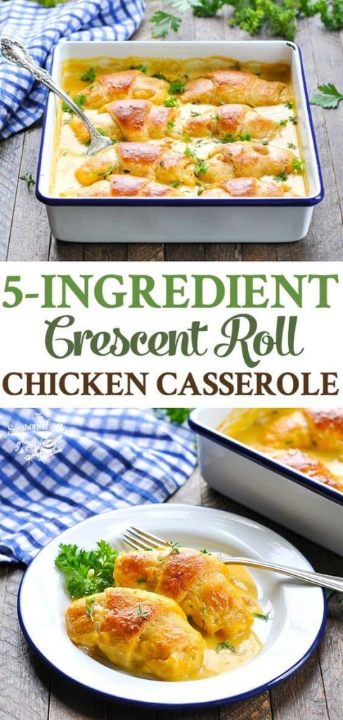 crescent roll chicken casserole