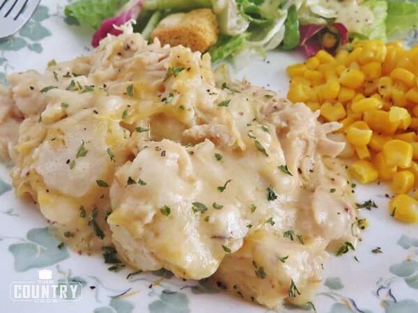 Chicken dumpling s casserole