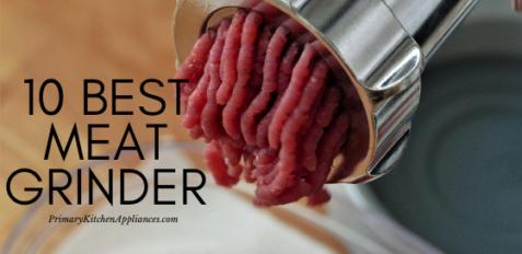 10 best meat grinder reviews