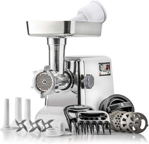 1. STX Turboforce Classic 3000 Series Electric Meat Grinder