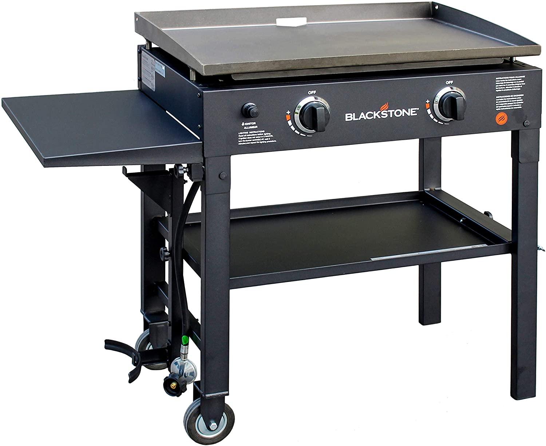 Blackstone flat top gas grill