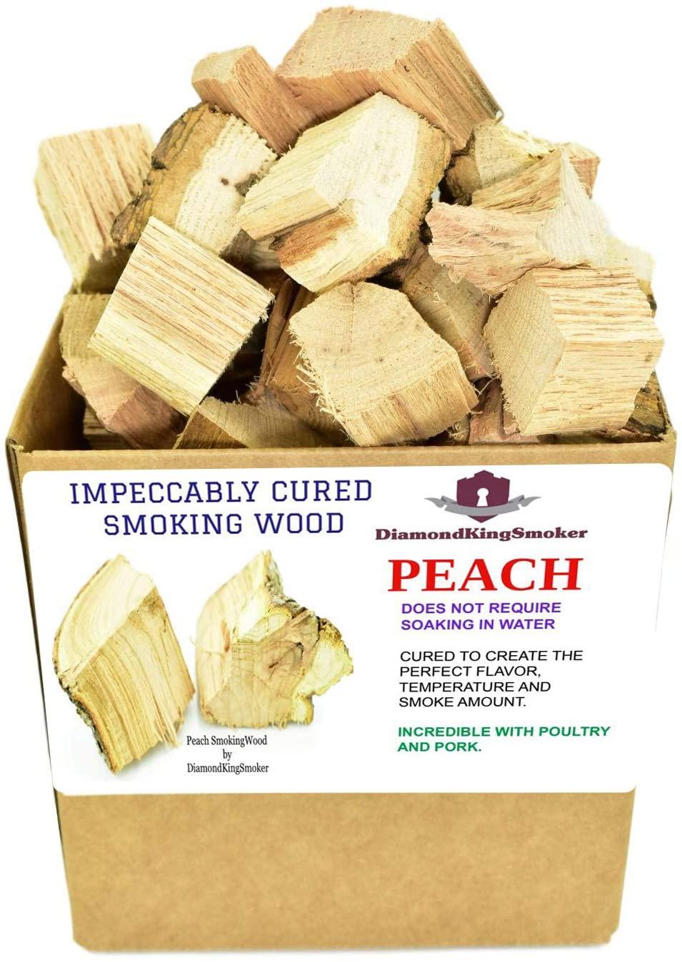 Diamond King Smoker Wild Cherry Wood Chunks