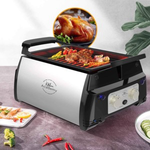 Kitchen academy electric infrared grill