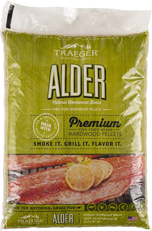 Traeger Grills PEL307 Alder-best wood pellets