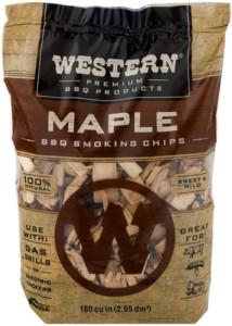 Western Premium BBQ Maple Smoking Chips