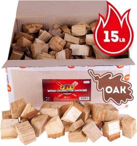 Zorestar oak smoker wood chunks