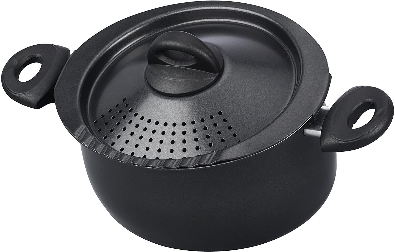 Bialetti 07265 Oval 5 Quart Pasta Pot