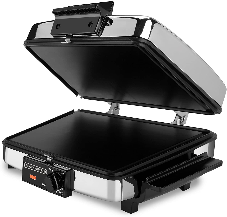 Black+Decker 3-in-1 Waffle Maker (G48TD)