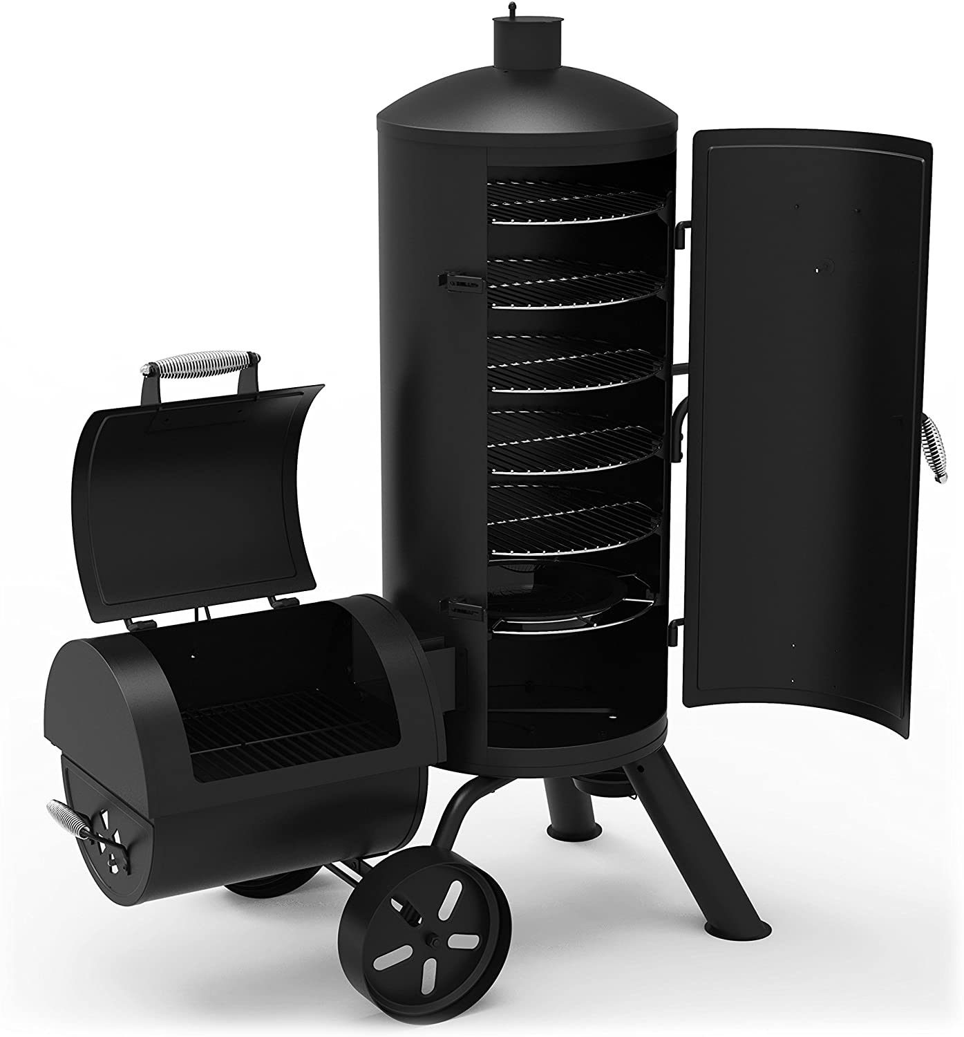 Dyna-Glo DGSS1382VCS-D Vertical Offset Charcoal Smoker & Grill