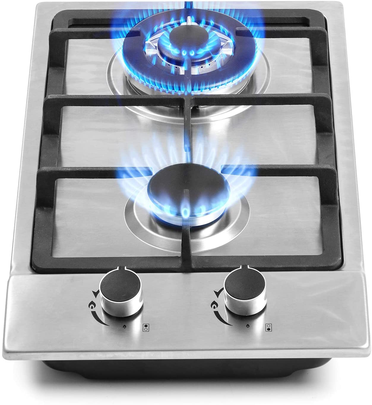 FORIMO 12-inch 2 Burner Gas Cooktop