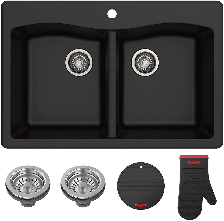 Kraus Forteza Granite Kitchen Sink