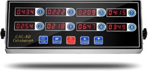BIZOEPRO 8 Channel Digital Kitchen Timer