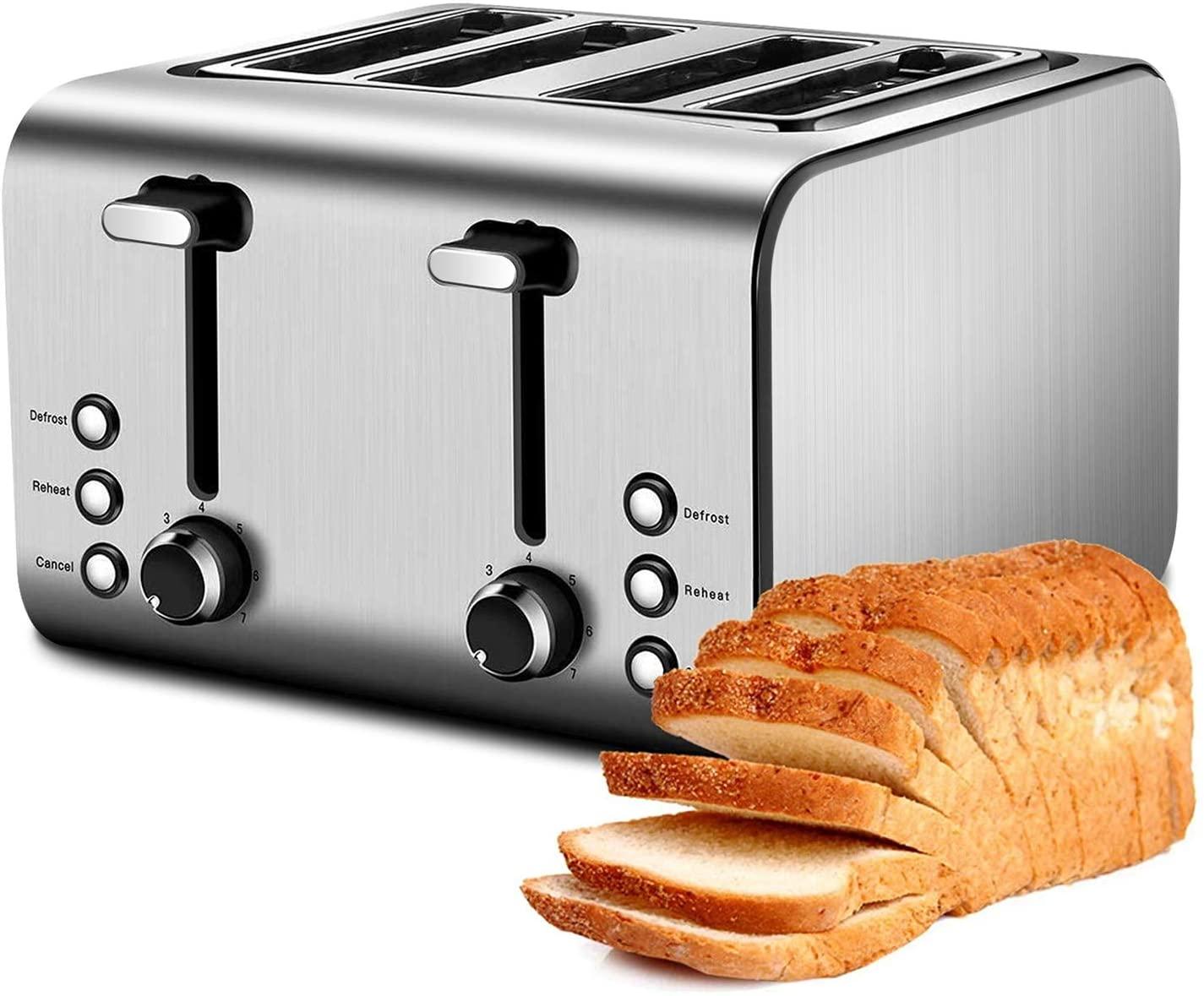 Barsetto Gevi 4 Slice Toaster