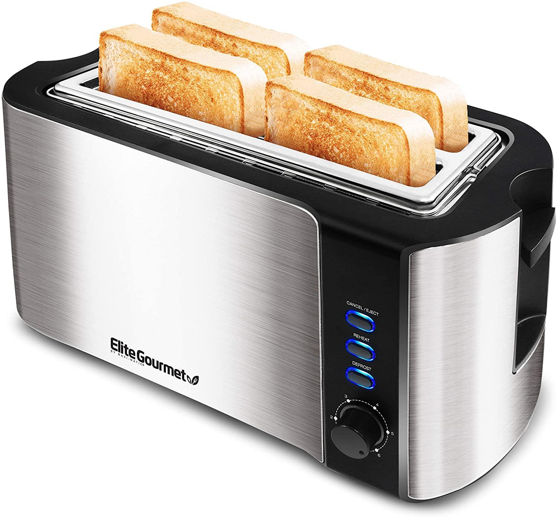 Elite Gourmet ECT-3100 Maxi-Matic 4 Slice Toaster