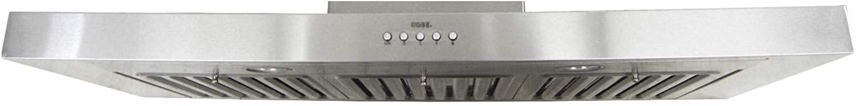 KOBE RAX2130SQB-1 Brillia Under Cabinet Range Hood
