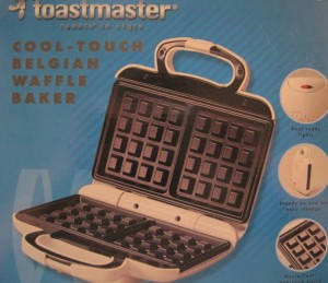 Toastmaster Cool Touch Belgian Waffle Maker