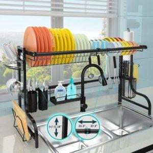 JZBRAIN above sink dish rack