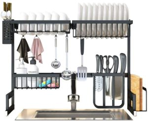 SKOLOO Over the sink dish drying rack
