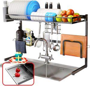WallQmer over the sink drying rack